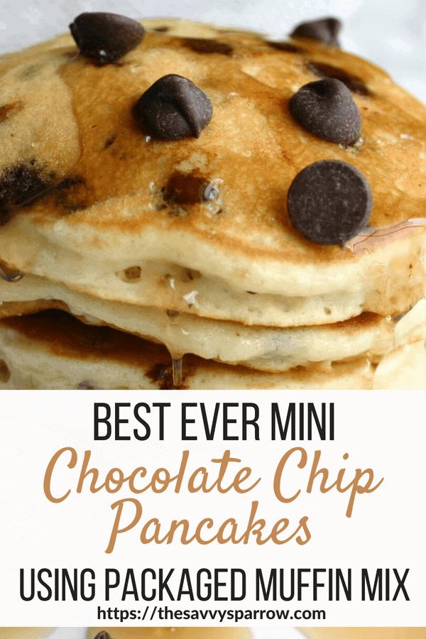 Easy Chocolate Chip Pancake Recipe