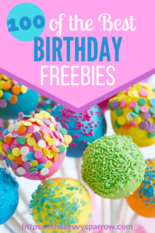 Best Birthday Freebies!