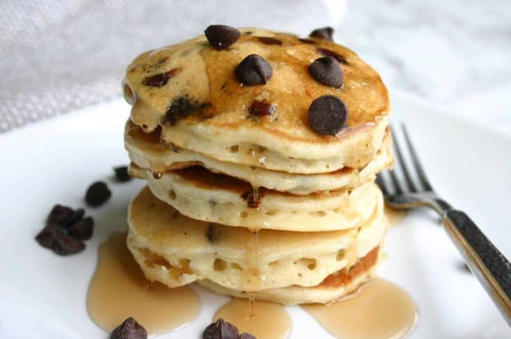 Best Ever Mini Chocolate Chip Pancakes