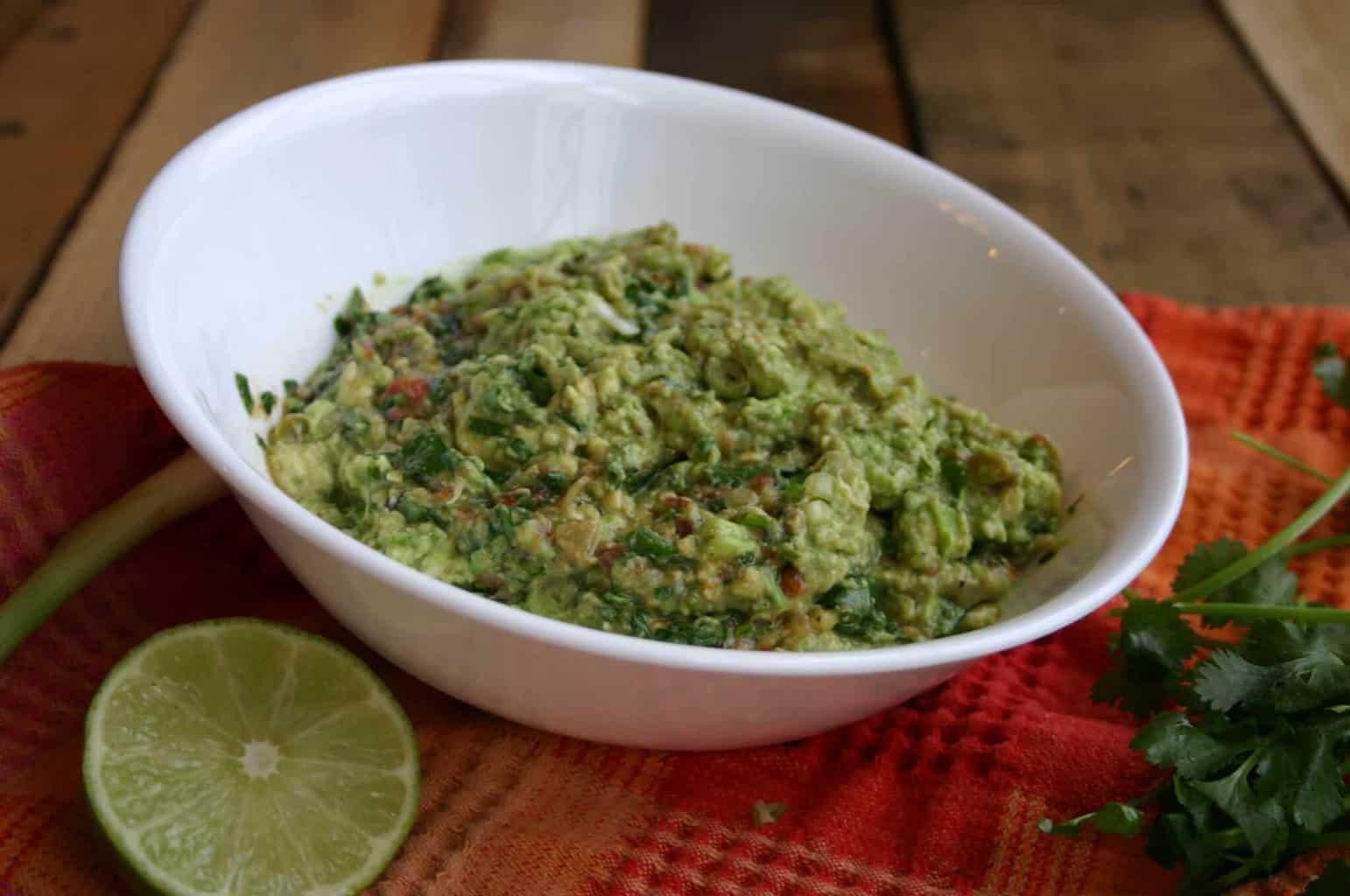 The Best Easy guacamole recipe
