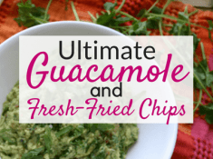 The best homemade guacamole!