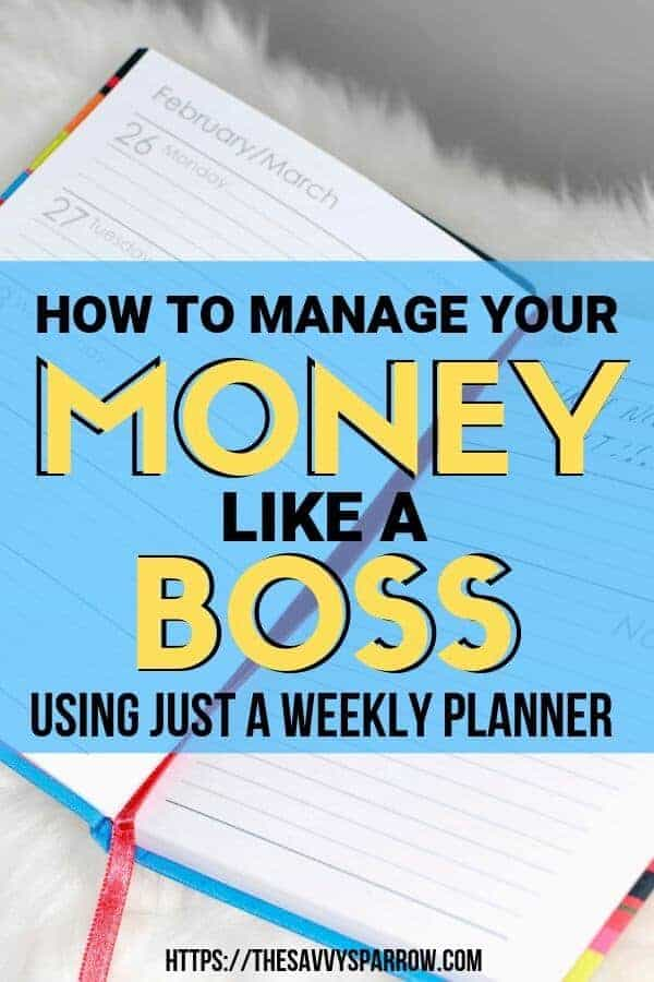 How to Keep Track of Finances with a Weekly Planner as an Expense Tracker