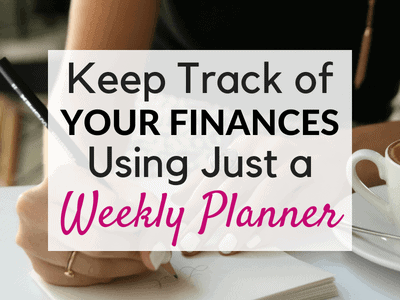 How to Keep Track of Spending Using a Weekly Planner