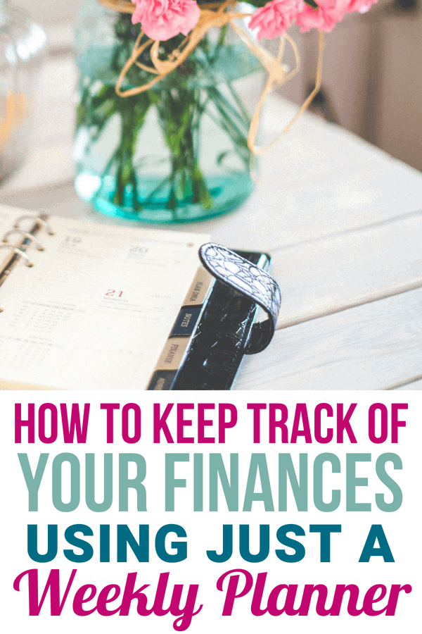 Keep track of spending and stick to a budget with this step by step guide! You can manage finances in just 5 minutes a day, and be more aware of where your money is going!
