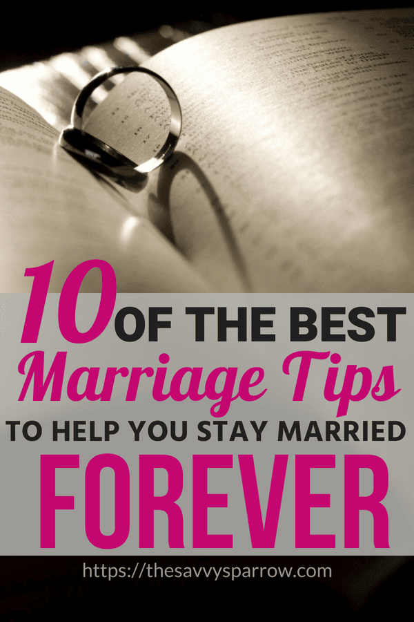 The Best Marriage tips ever to help you have a successful marriage!