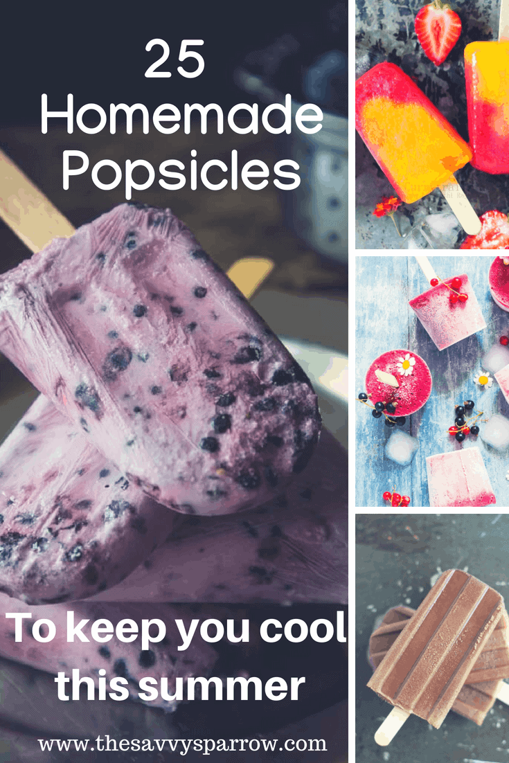 25 Amazing Homemade Popsicles