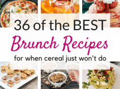 The Best brunch recipes ever!