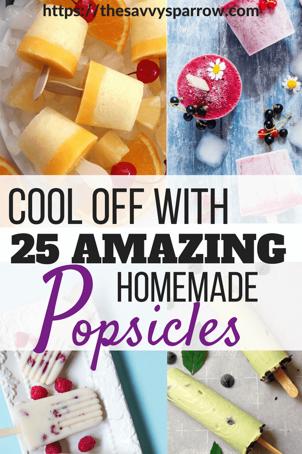 25 Amazing Popsicle Recipes!