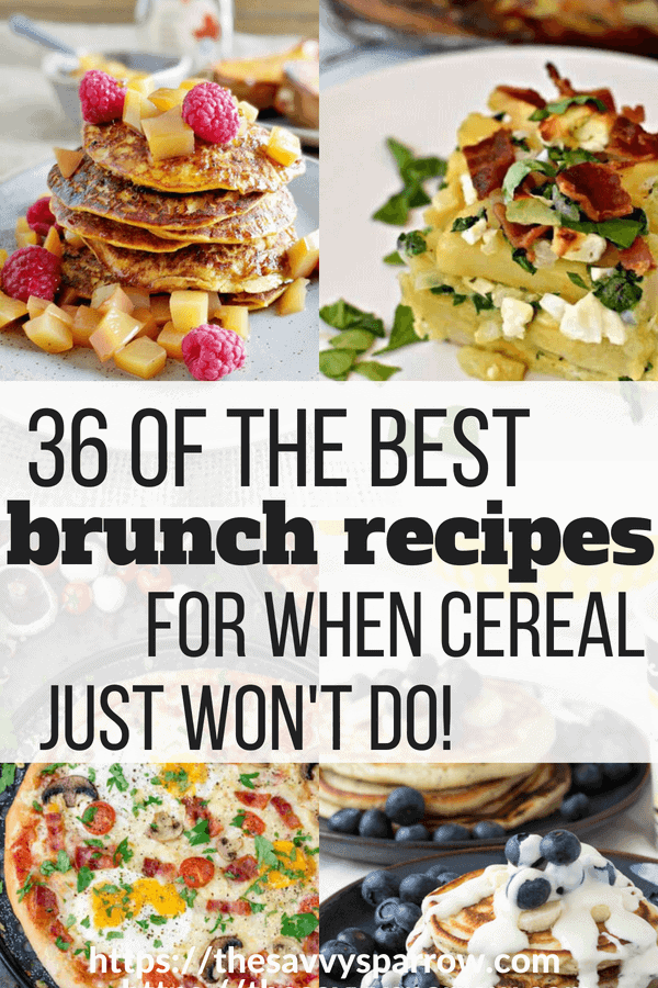 36 Amazing Brunch Recipes!