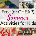 The best summer activities for kids!