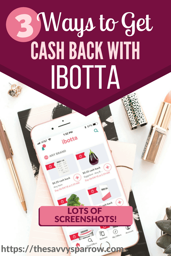 How to use Ibotta app to get cash back!