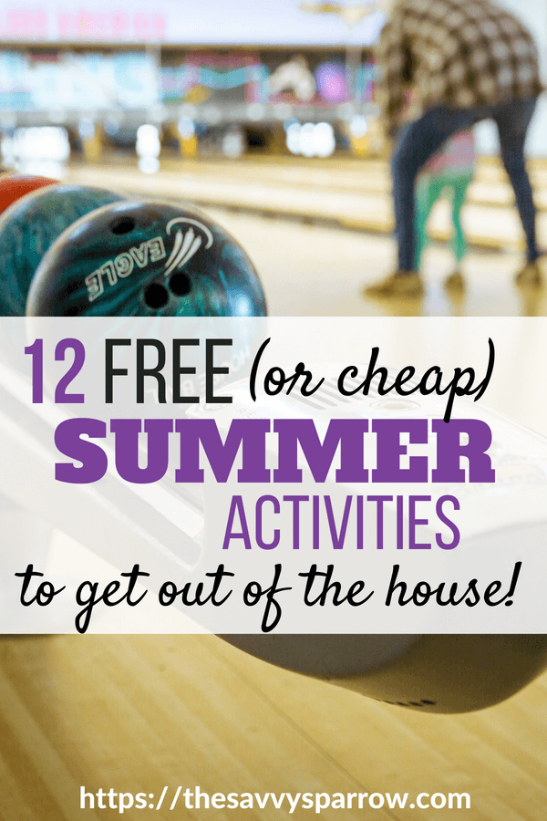 Free summer activities for kids!