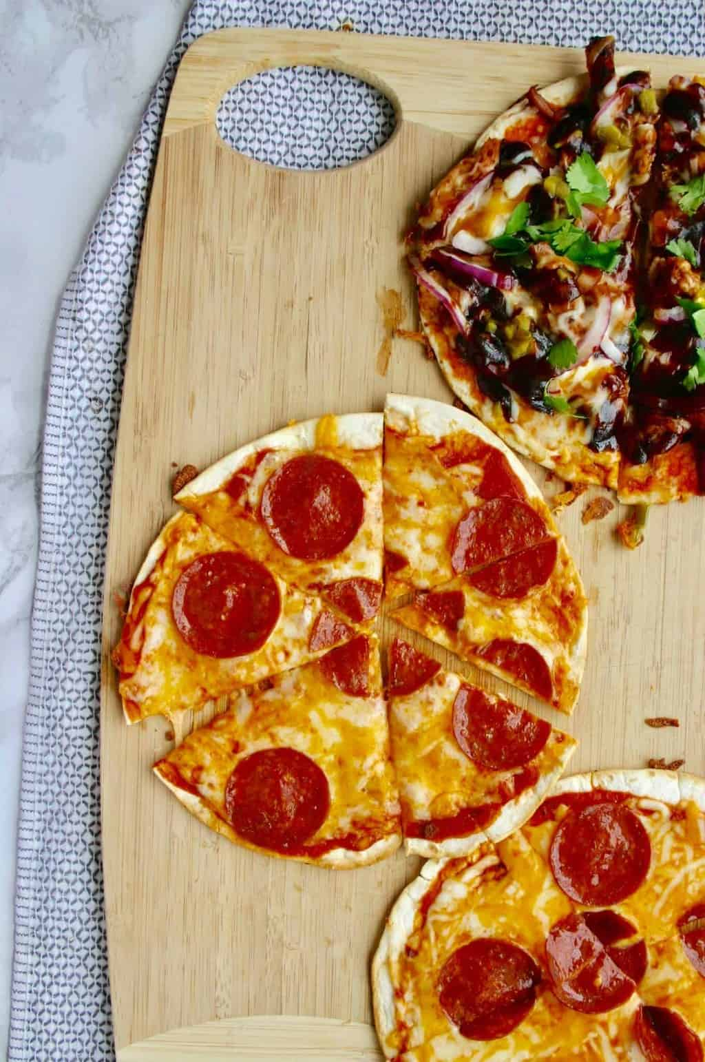 The best tortilla pizza you will ever have!
