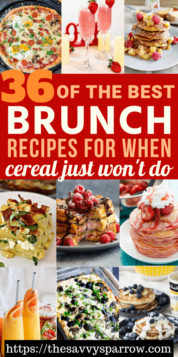 The best brunch recipes for easy brunch ideas, egg casserole recipes, and more!