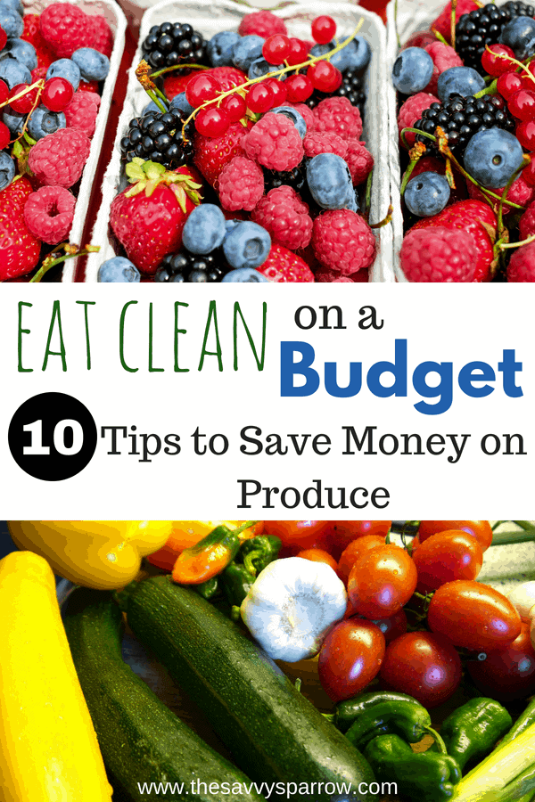 10 Tips to Save Money on Produce
