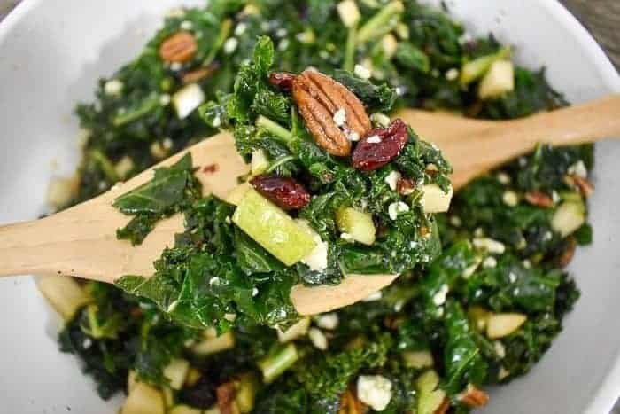 Easy and Delicious Massaged Kale Salad