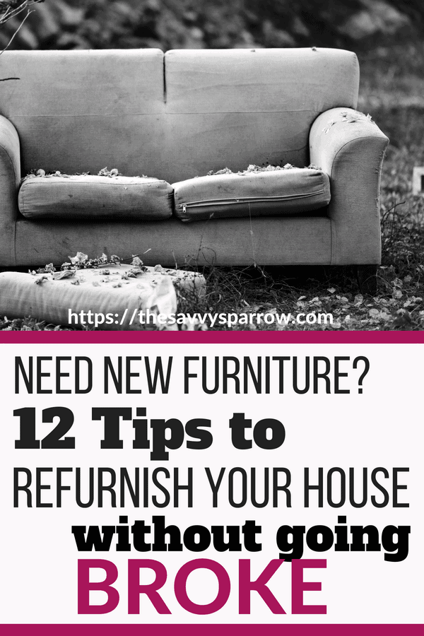 Save money on furniture