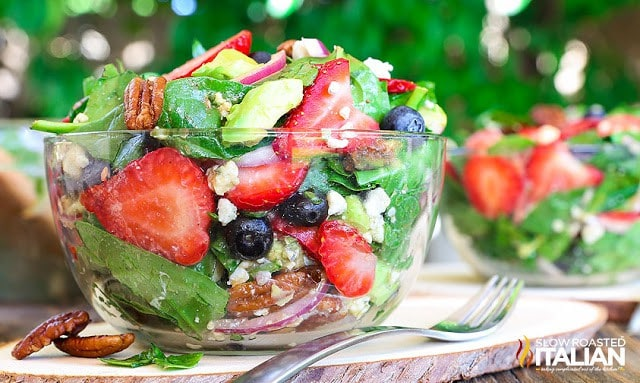 The Best Ever Strawberry Spinach Salad