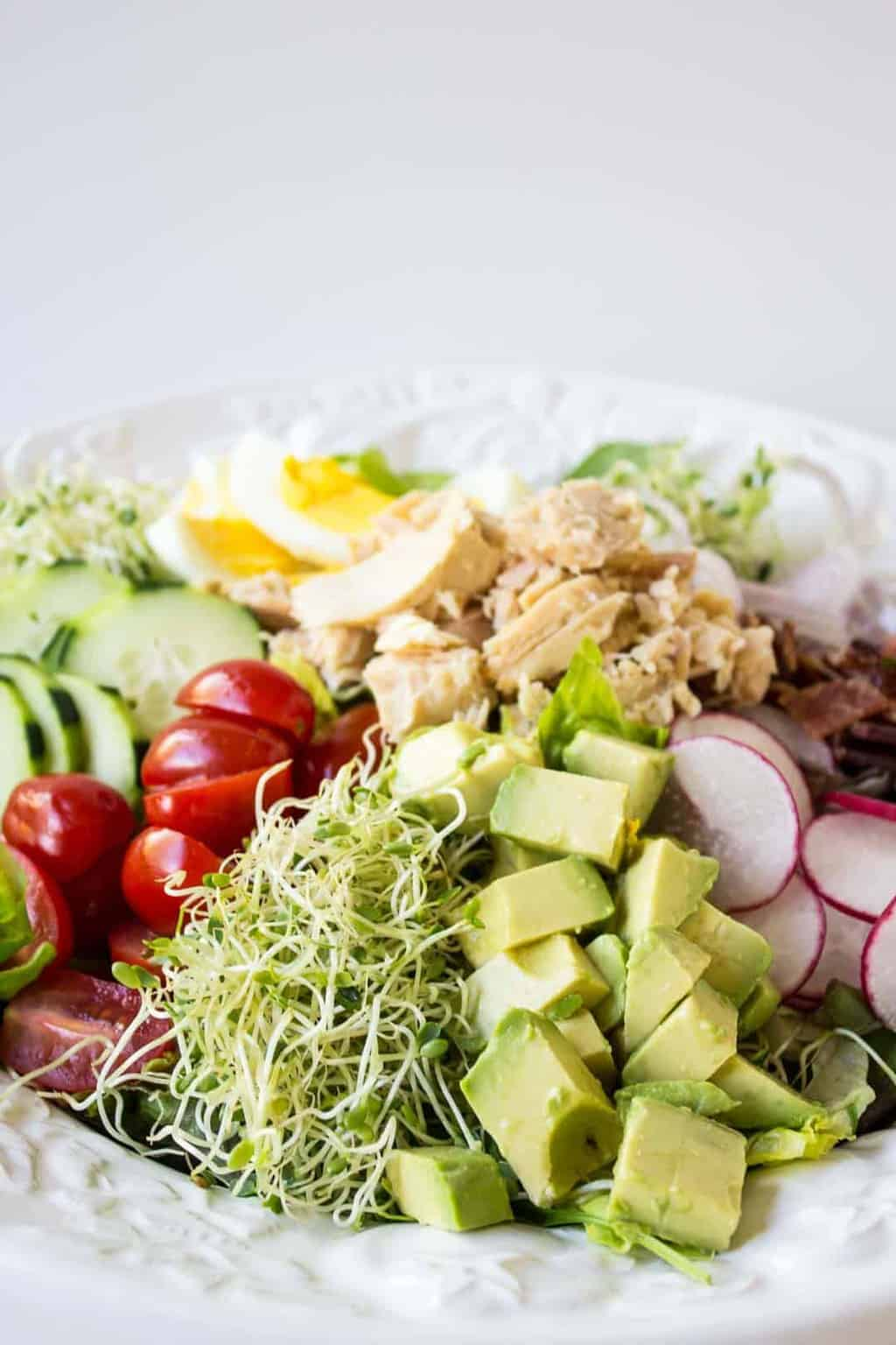 Delicious and Healthy Tuna Cobb Salad