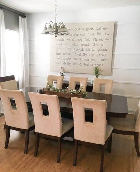 Farmhouse dining room - Farmhouse decor for cheap