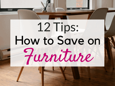 Save Money on Furniture: How We Saved over $5,000!