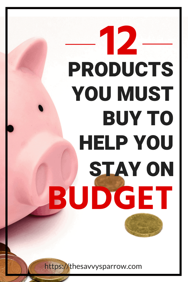 12 Products that save you money and help you stay on budget!