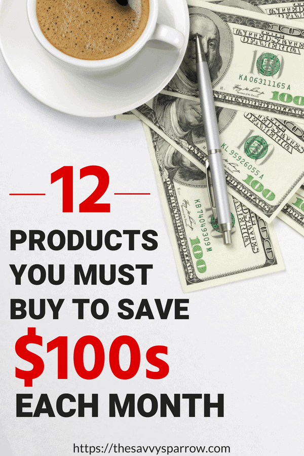 Products that save you money in the long run!
