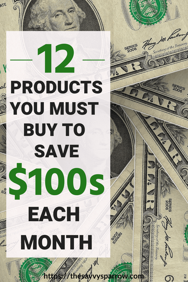 Products that save you money each month and help you stick to a budget!