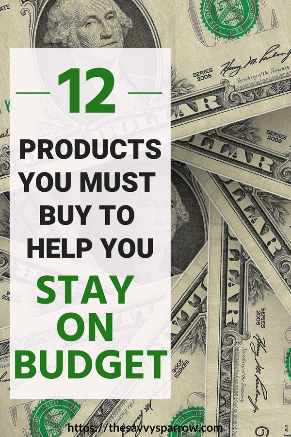 Products that save you money each month and help you stay on budget!