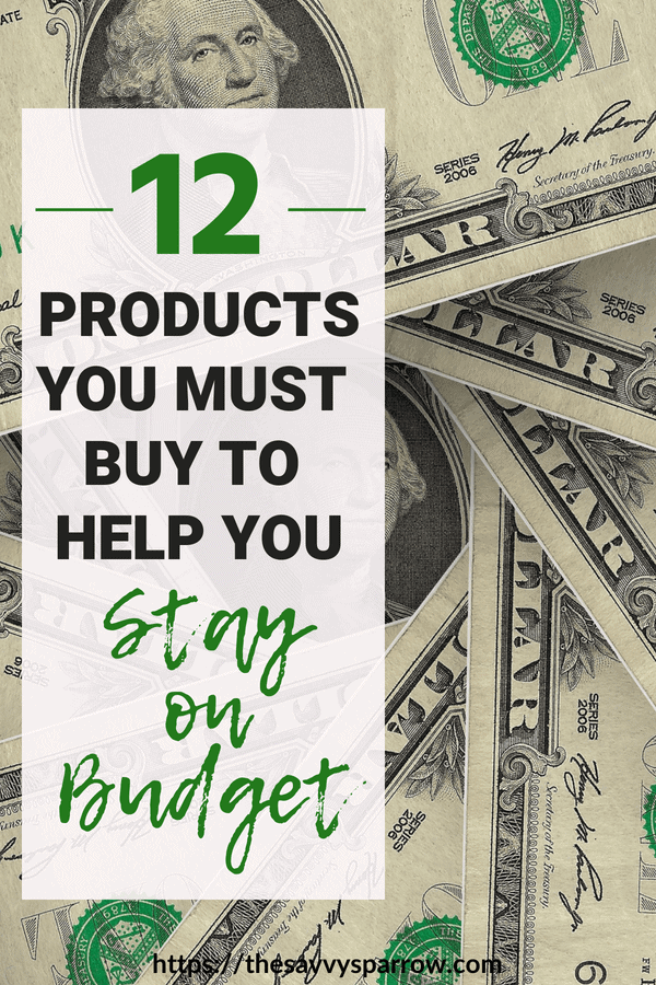 Products that save you money and help you stay on budget!