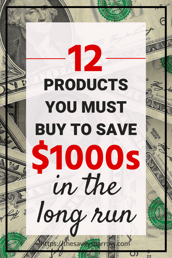 Products that save you money!