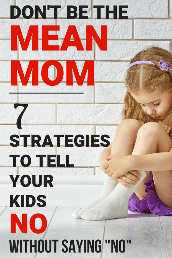 Tell kids no without saying no with these easy parenting tips to tell kids no, including redirection.