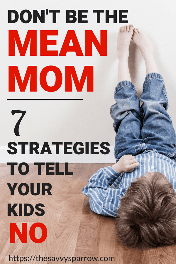 Tell Kids NO without saying no with these parenting tips for telling kids no!