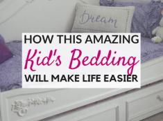 Zipper bedding for kids: A Beddy's Review!