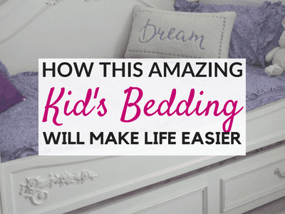 How Zipper Bedding for Kids Will Make Your Life Easier:  A Beddy's Review