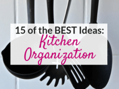 The best kitchen organization ideas to try right now!