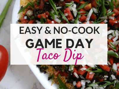 The Best Easy Taco Dip Recipe – A Perfect Football Party Food!