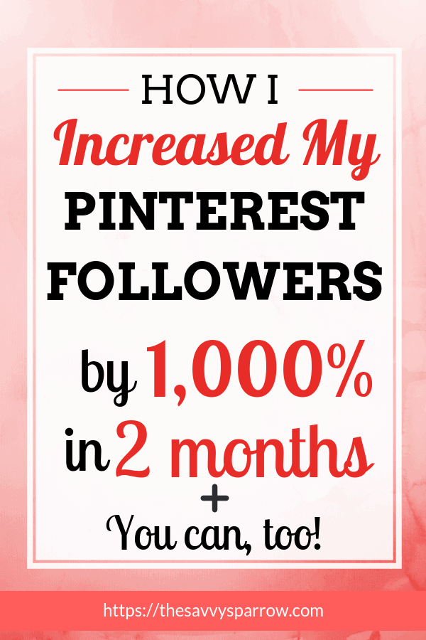 How to Increase pinterest followers with one simple tool!