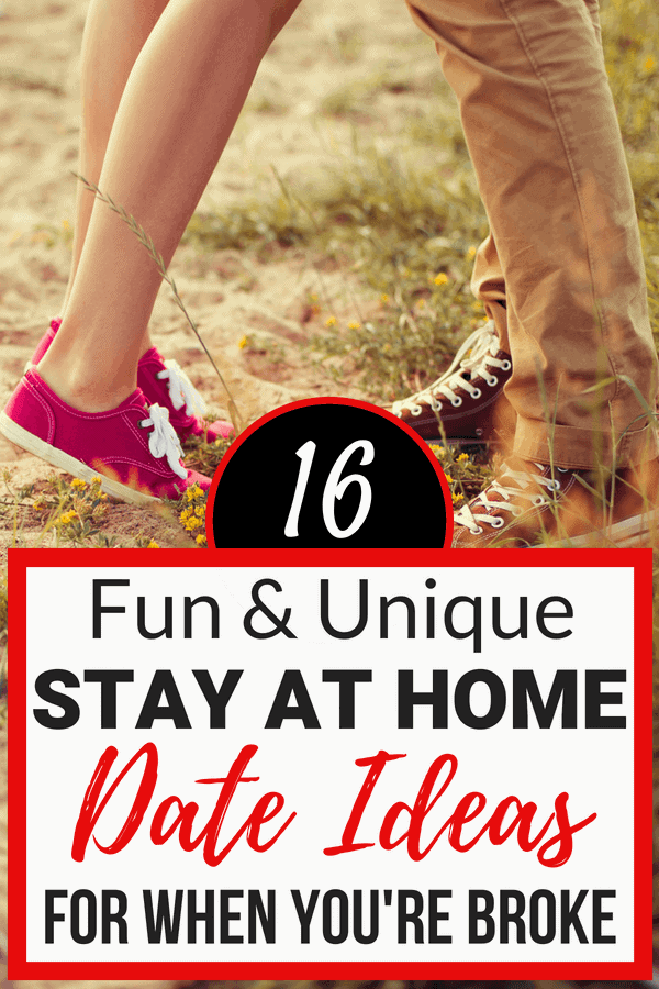 Unique stay at home date ideas on a budget