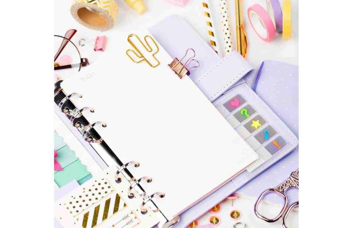 Planner ideas for organization