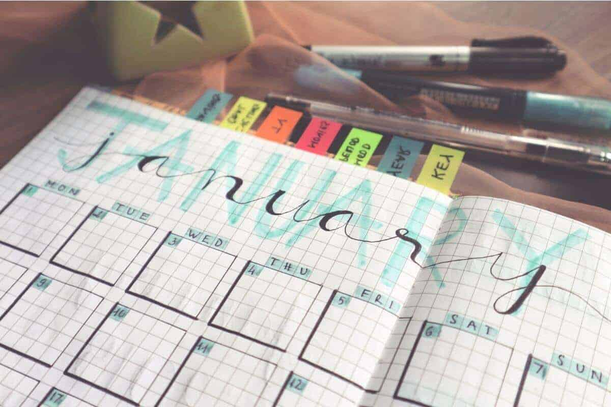 Things to keep track of in your planner