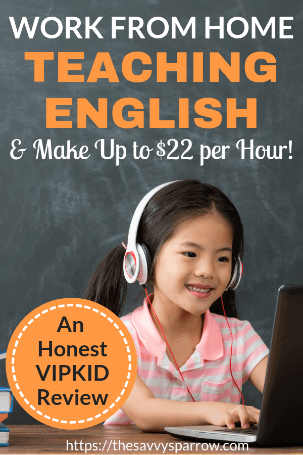 Work from home teaching English with VIPKID and make up to $22 per hour! An honest VIPKID review from an actual teacher.