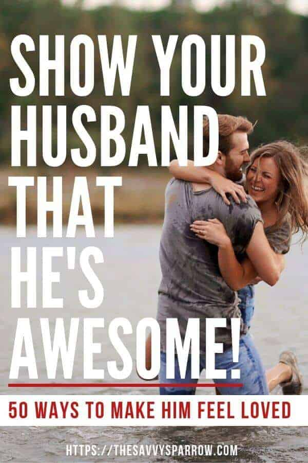 Show your husband love!