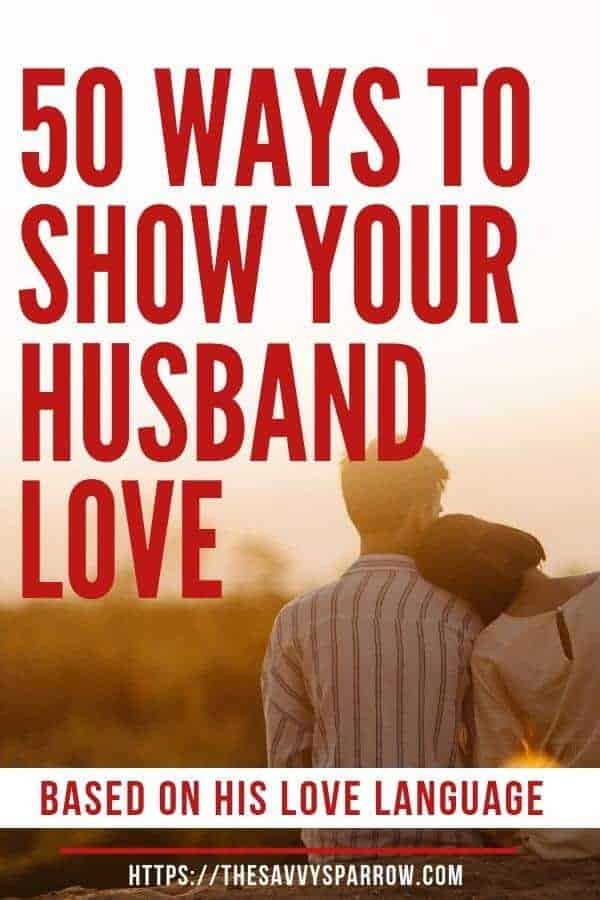 Ways to Show Your Spouse Love
