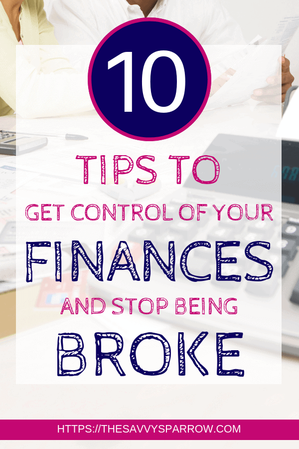 Learn how to get control of your finances and stop living paycheck to paycheck!