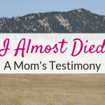 Stress less: A Mom's Testimony about not sweating the small stuff.