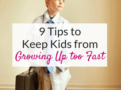 My 6 Year Old Twerks… How to Keep Kids from Growing Up too Fast!