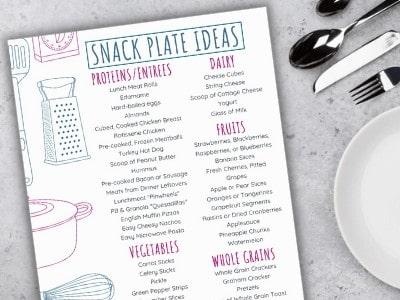 Snack Plate Ideas – An Easy Dinner Hack for Kids