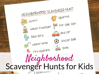 graphic regarding Free Printable Scavenger Hunt titled Regional Scavenger Hunt with Totally free Printables The Savvy
