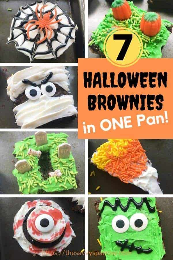 Halloween Brownies decorating ideas!
